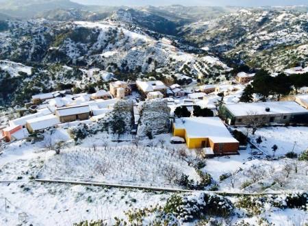Bova (Chòra tu Vùa) 17 Gennaio 2016. L'inverno che ci piace !!!!