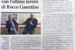 Rocco Cosentino all'Euclide (Garantista)