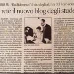 In Rete il Blog Euclide News (Quotidiano)