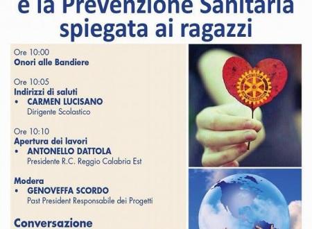 Rotary e Scuola dialogano sulla prevenzione sanitaria con Gaetano de Donato