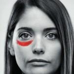 La riflessione: Rosso acceso color amore.