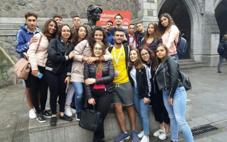 GREEN IRELAND. VOLGE AL TERMINE L'ESPERIENZA IRLANDESE PER I RAGAZZI DELL'EUCLIDE